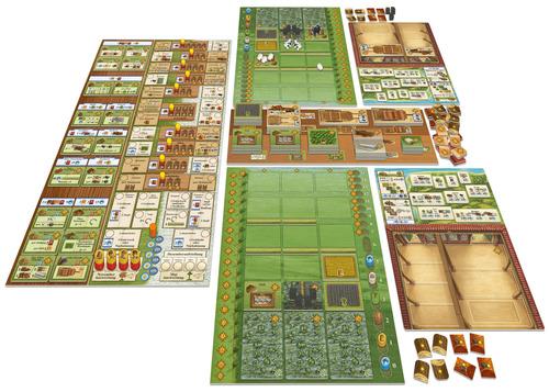 Detalle del juego de Fields of arle