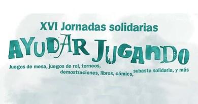 Logotipo del cartel de las jornadas solidarias 2016