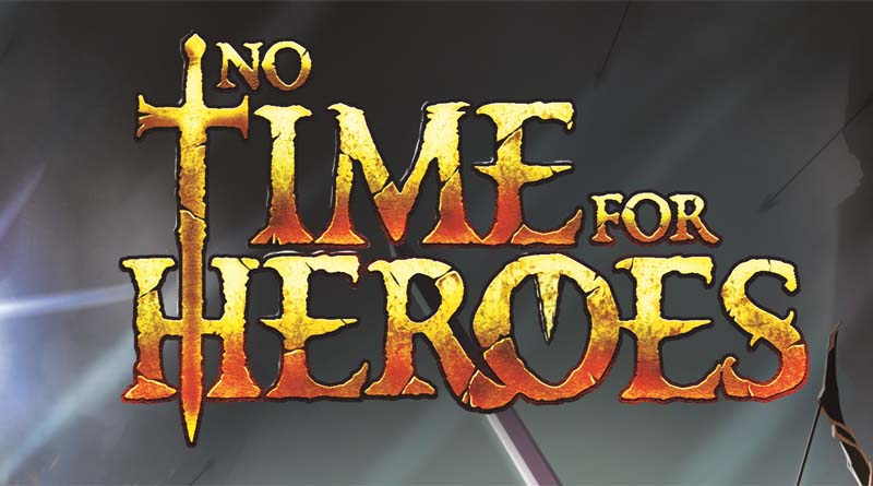 Logotipo de No time for Heroes