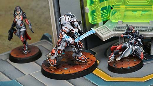 Miniatura de los SWAT Taskmaster de Infinity