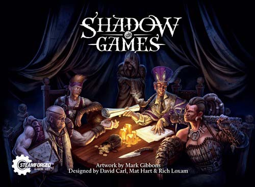 Portada de Shadow game