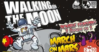 Arte Gráfico de Walking on the Moon
