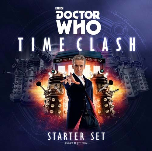 Portada de Doctor Who Time Clash