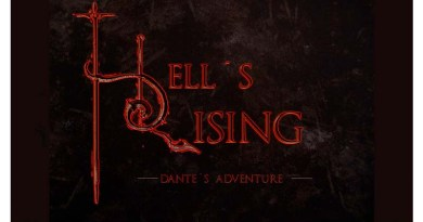 Logotipo de Hell Rising