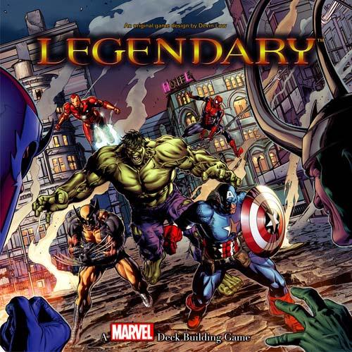 Portada de Lgendary Marvel