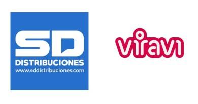 Logotipos de Viravi y sd distribuciones