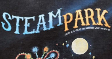 Logotipo de Steam park