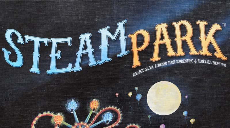 Logotipo de Steam park