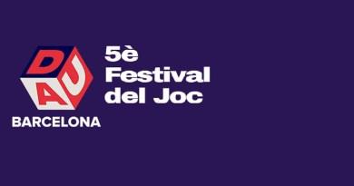 Logotipo del 5º festival DAU de Barcelona