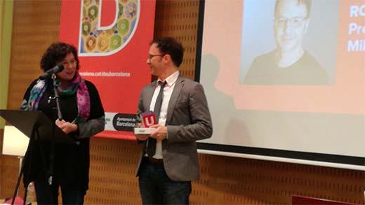 Rob Daviau Premis DAU Barcelona al mejor autor 2016