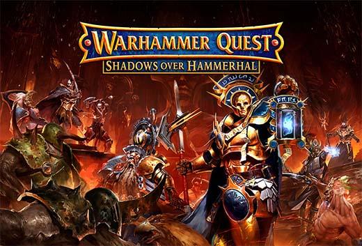 Portada de warhammer quest shadows over hammerhal
