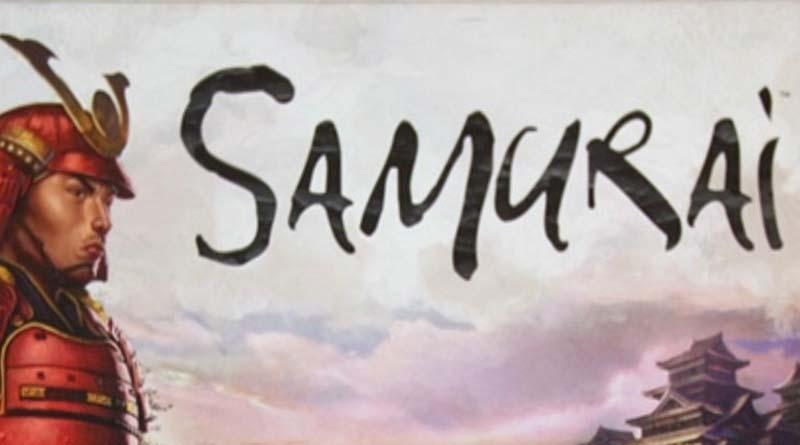 Logotipo del juego de mesa Samurai