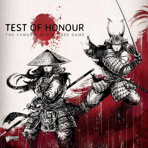 Portada de Test of Honor el nuevo juego de Warlord Miniatures