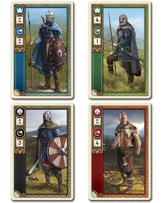 cartas de tropas de 878 Vikings