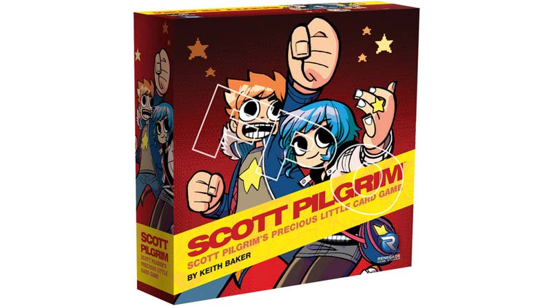 Portada de Scott Pilgrim's Precious Little Card Game