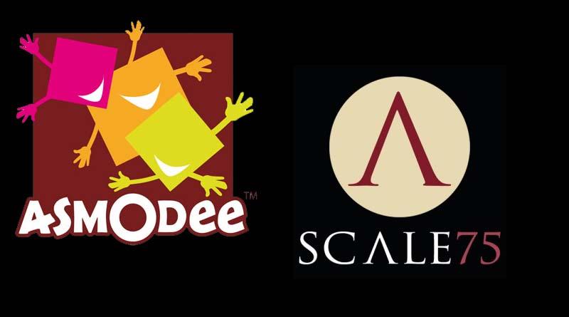 Logotipos de Asmodee y Scale 75