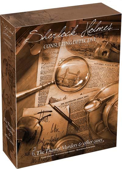 Portada de Sherlock Holmes detective asesor: El asesinato del Támesis y otros casos