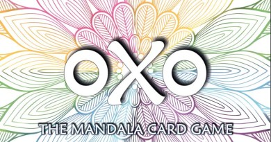 logotipo de oxo the mandala card game