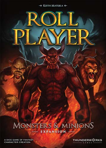 portada de roll player: monsters and minions