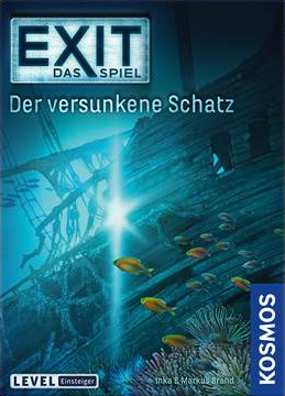 Portada de EXIT: Das Spiel – Der versunkene Schatz