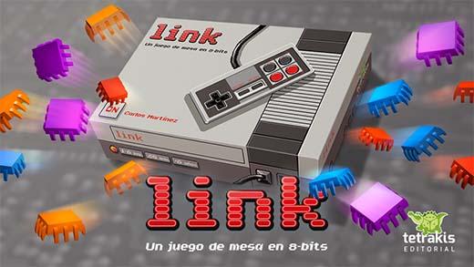 Portada del juego de mesa Link