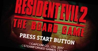 Imagen del teaser trailer del juego de mesa de resident evil 2