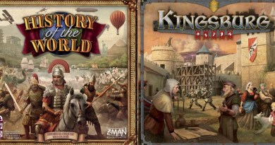 History of the world y Kingsburg tendrán una nueva edición de Z-Man Games