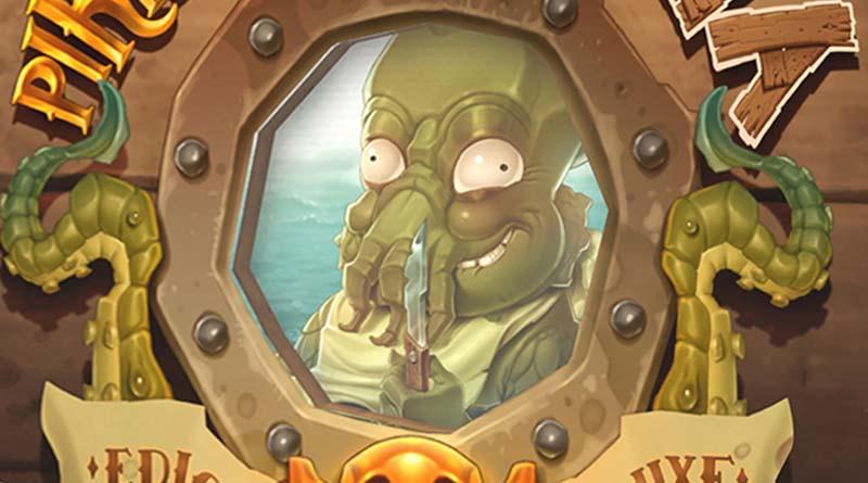 El Kraken de piratas al agua
