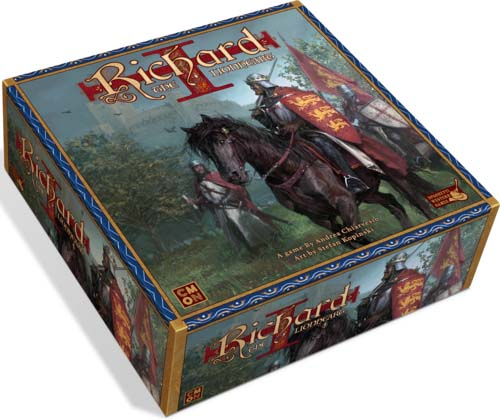 Caja del juego richard the lionheart