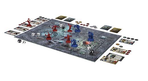 Componentes de Warhammer Underworlds: Shadespire