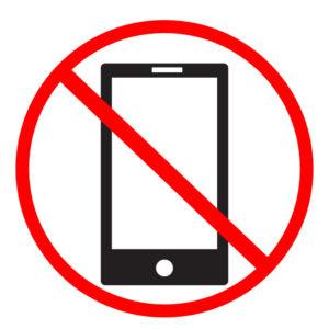 no uso de celular en clases