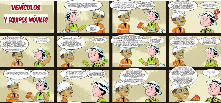 Capacitaciones de Seguridad y Salud en el trabajo con Cómics