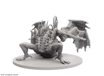Figurine boss bonus gaping dragon