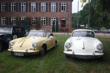 zwei Porsche 356 C, Bj.1962