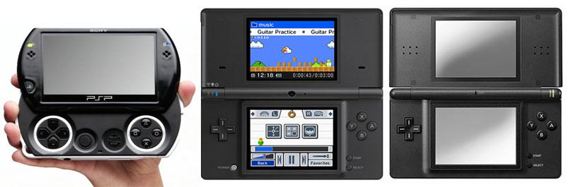 psp go vs dsi [E309]: PSP Go, dimensiones y la poca creatividad de Sony