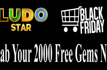 Get free gems in ludo star game on black friday