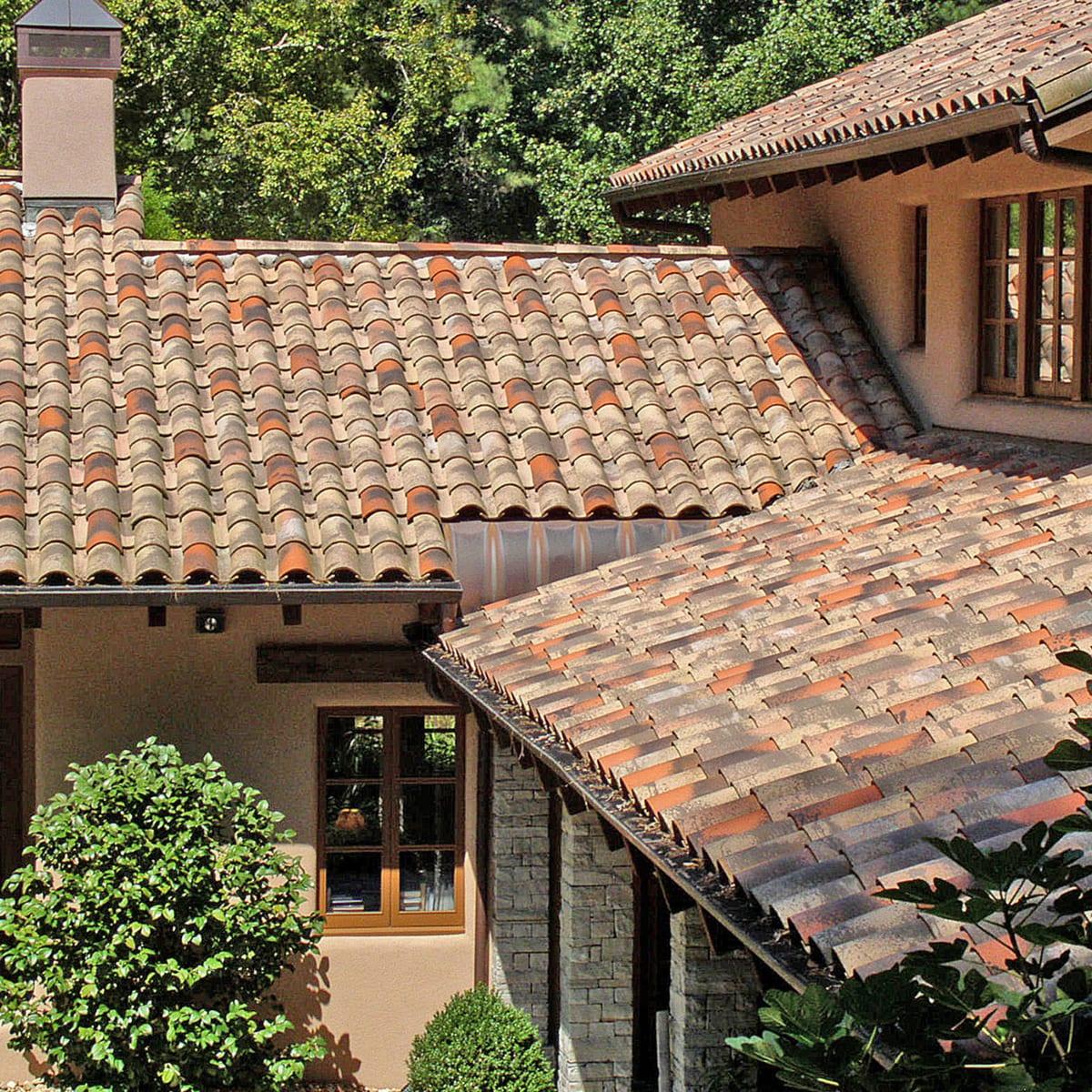 roof tile terracotta roof tile