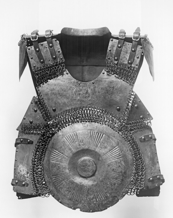 16th Century Turkish Body Armor from The Walters Art Museum All artworks in the photographs are in public domain due to age. The photographs of two-dimensional objects are also in the public domain. Photographs of three-dimensional objects and all descriptions have been released under the Creative Commons Attribution-Share Alike 3.0 Unported License and the GNU Free Documentation License.