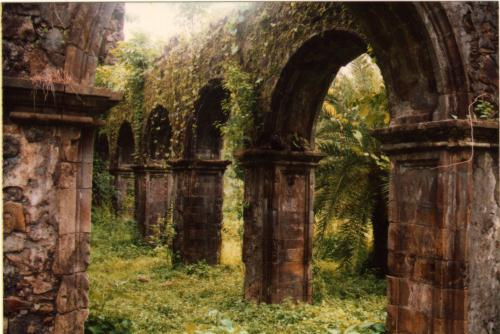 """Vasai Fort Ruins."" Image source: http://theory.tifr.res.in/bombay/architecture/building/vasai-fort.html. Used under Creative Commons Attribution Share-Alike License 3.0. License link: http://creativecommons.org/licenses/by-sa/3.0/deed.en"
