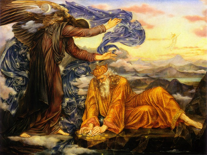 Earthbound (1897) by Evelyn De Morgan http://commons.wikimedia.org/wiki/File:Earthbound.jpg