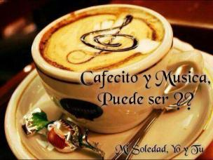 cafe y musica