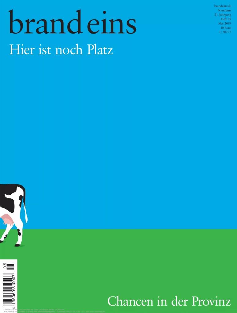 Interview mit Lüllepop im brand eins Magazin