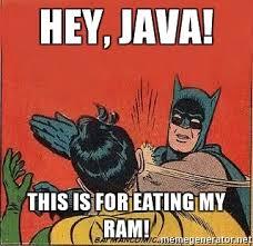 Java es el Pacman de la RAM de tu PC