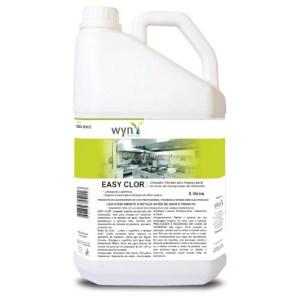 Easy Clor – Detergente Alcalino Clorado de Alta Espumação para Uso Geral – Galão de 5 litros – Elfen