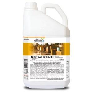 Neutral Grease – Detergente Desengraxante Neutro de Uso Geral – Galão de 5 litros – Elfen