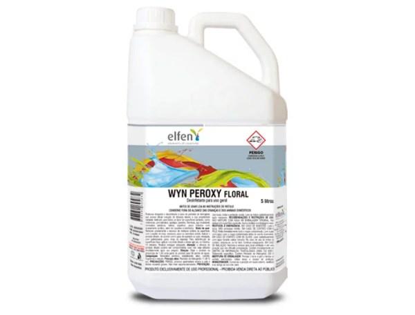 Wyn Peroxy - Limpador e Desinfetante Multiuso - Galão de 5 litros - Elfen