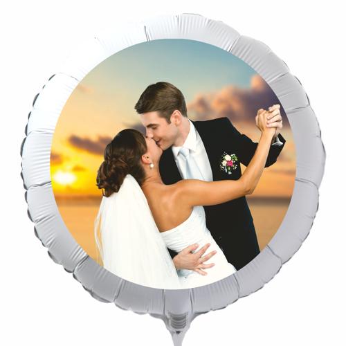Fotoballons mit eigenem Foto zur Hochzeit  Luftballons