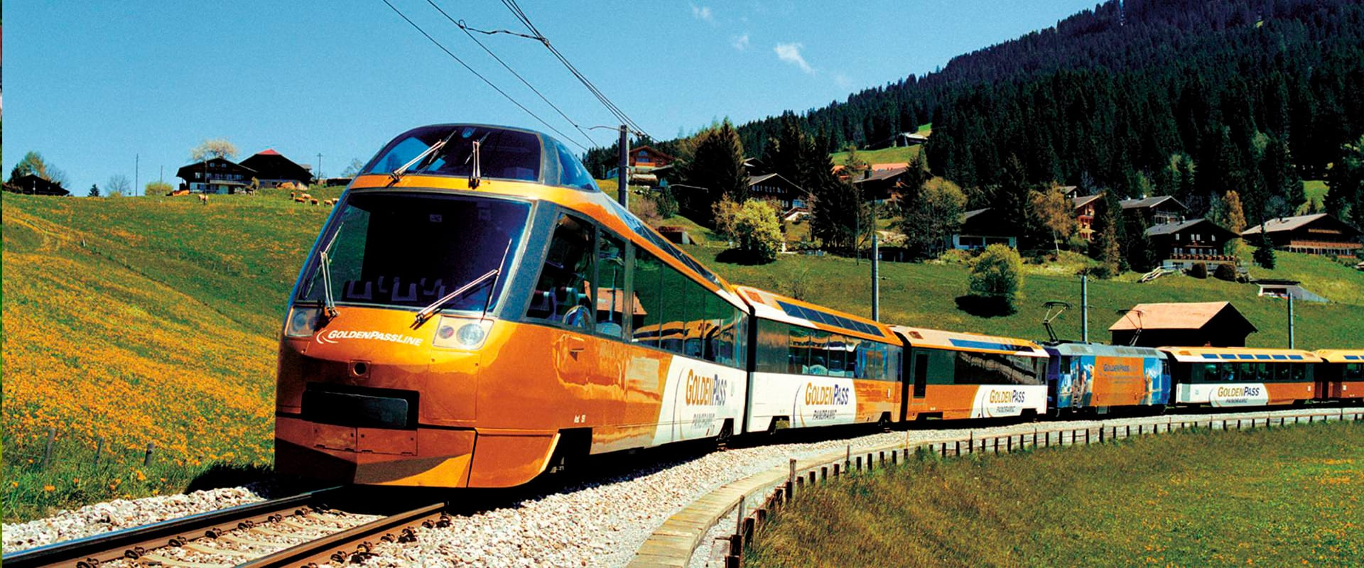 Pacote Os Cumes Nevados & Golden Pass Line