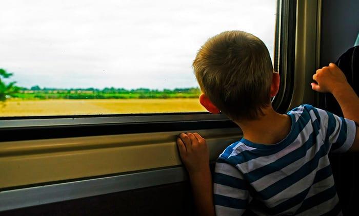Trem de Paris a Lisboa