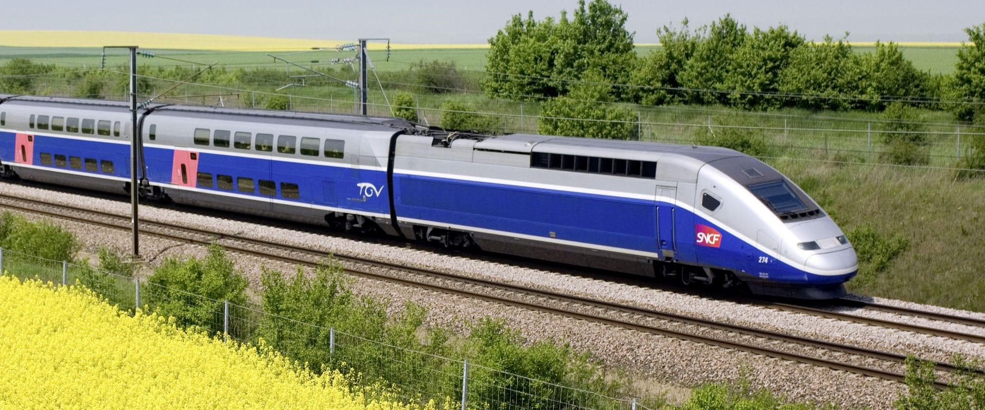 Trem de Barcelona para Paris
